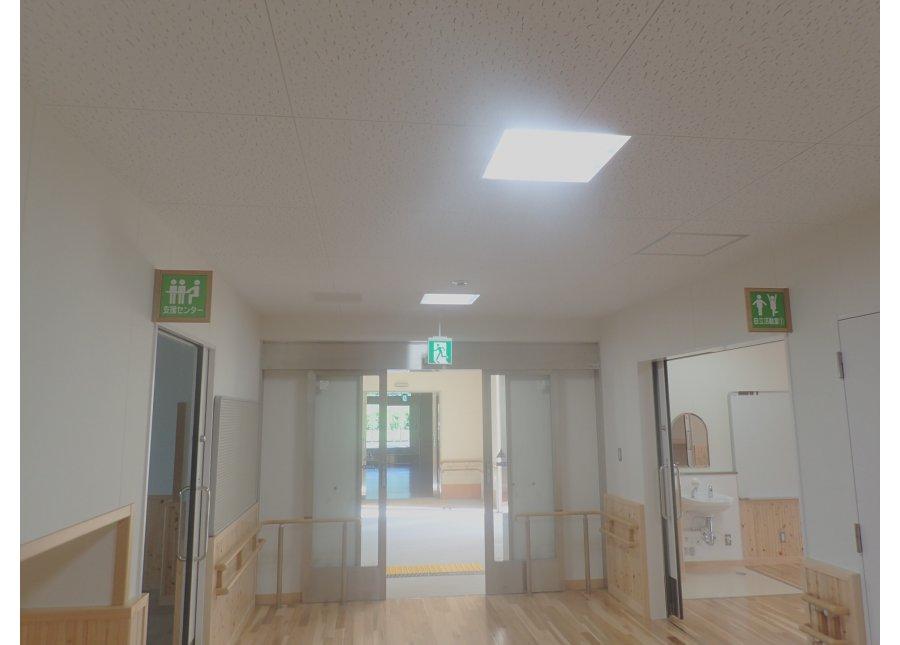 県立倉敷まきび支援学校(A工区)災害復旧電気設備工事