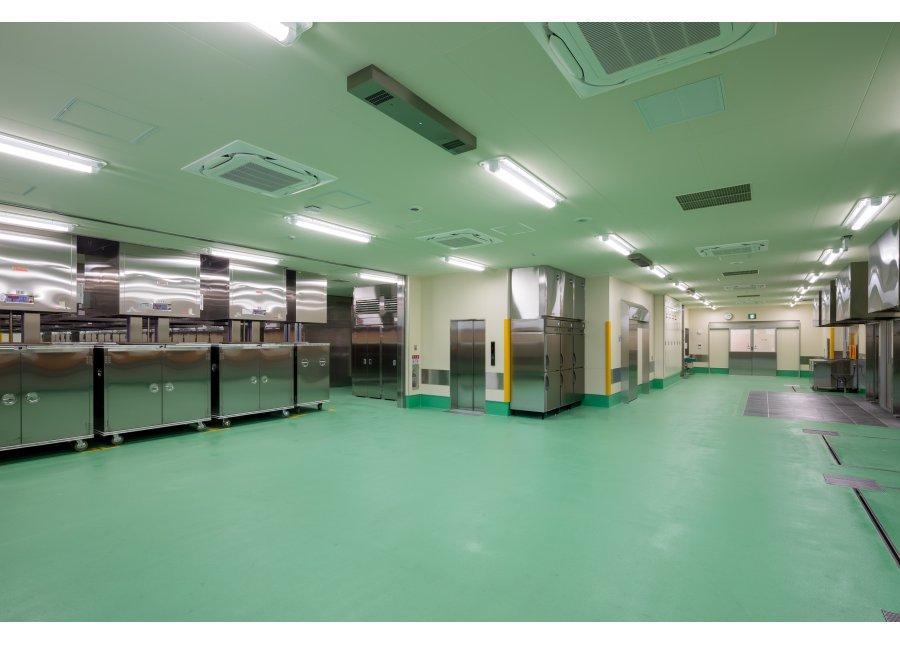新学校給食共同調理場電気設備工事