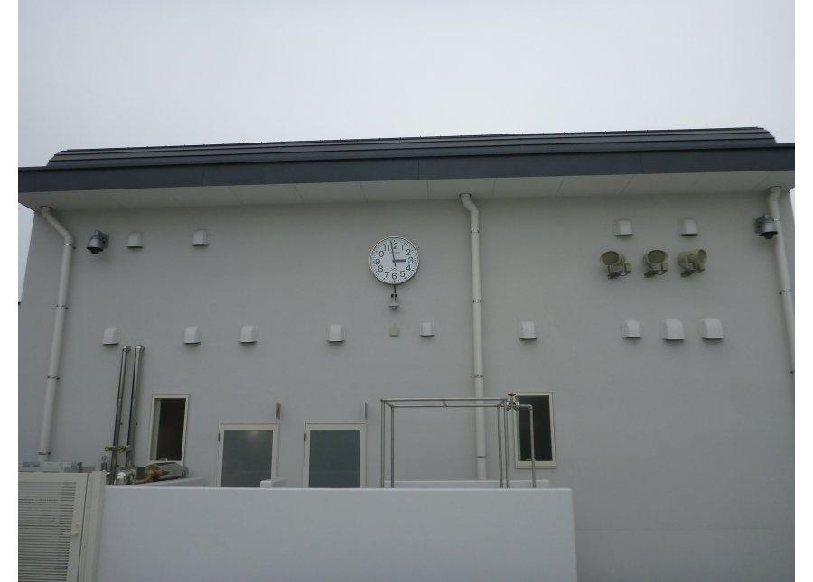 水島中央公園水泳場管理棟電気設備工事