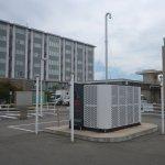 倉敷市環境交流スクエア駐車場簡易水素ステーション設置工事